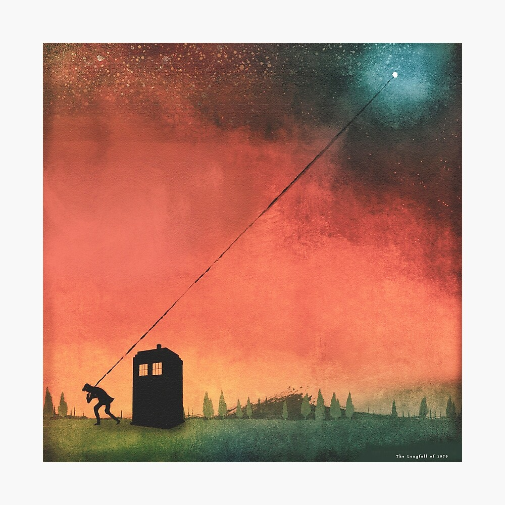 Boy On A String [Constellations] Photographic Print