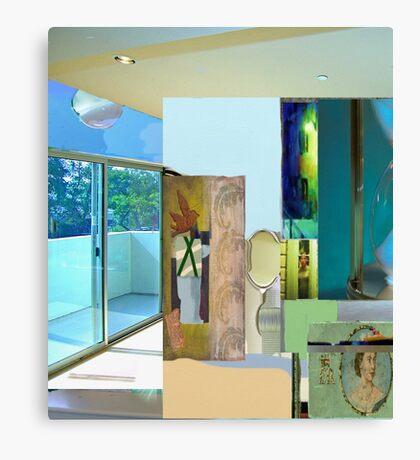 Interior light collage #7 Canvas Print