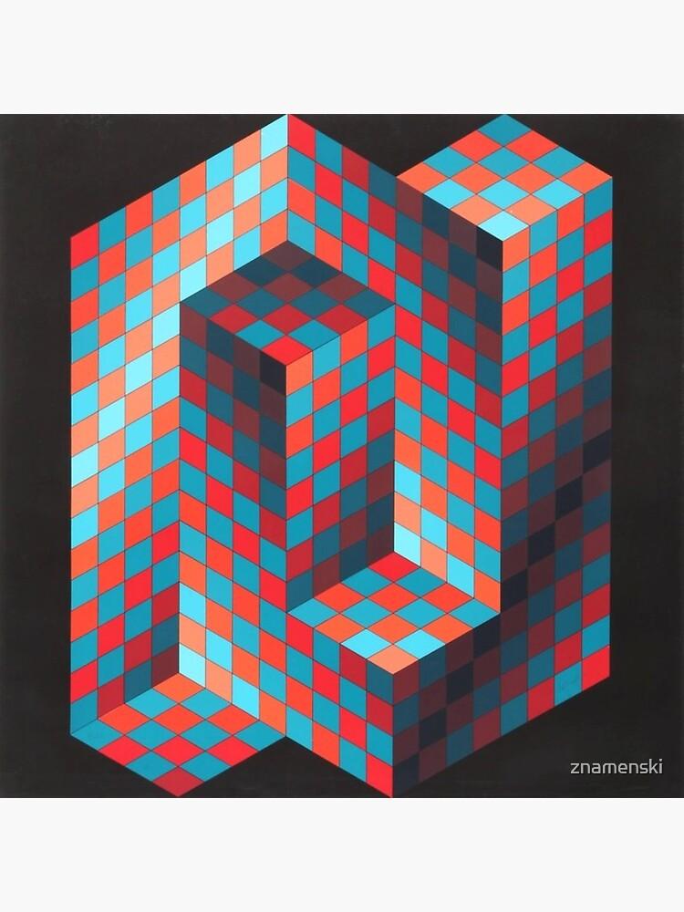Op Art #OpArt Optical Art #OpticalArt Optical Illusions #OpticalIllusions #Illusion by znamenski
