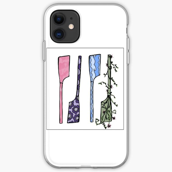 Artsy Oars iPhone Soft Case