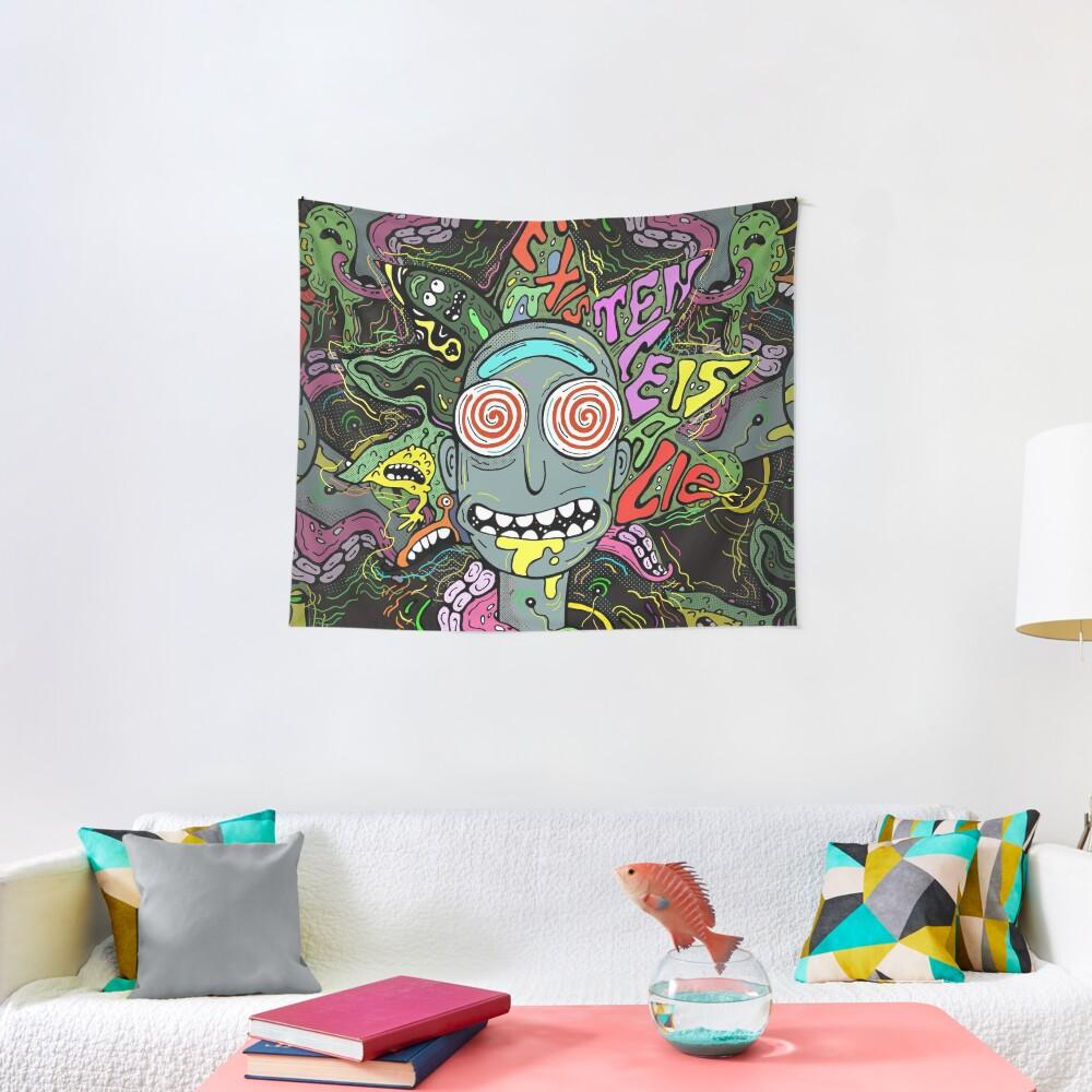 Acid Rick Tapestry