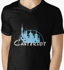 Canterlot Mens V-Neck T-Shirt