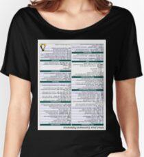 Linux Cheat Sheet Shirt Women's Relaxed Fit T-Shirt