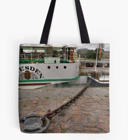 PD-Dresden  steam powered Riverboat Tote Bag