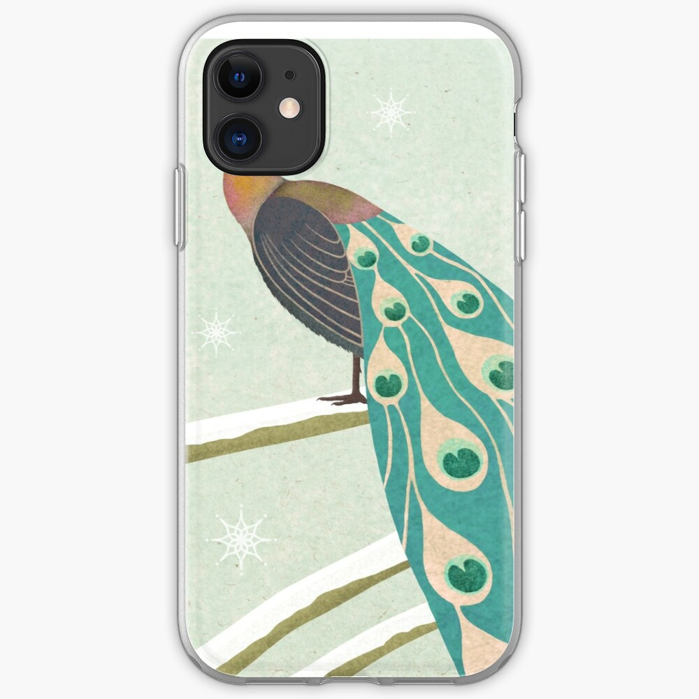 Christmas Whale iphone case