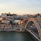 Porto at sunset by Emazevedo