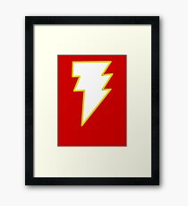Magic Lightning Man Framed Print