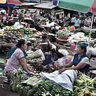 Traditional Markets - Sellers And Buyers by Komang