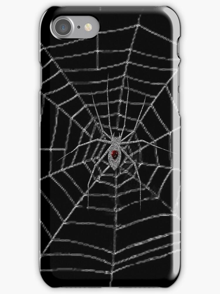 Black Widow Web Case by VampicaX