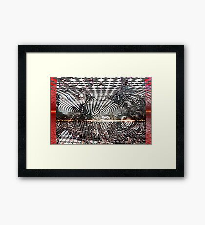 Time to escape (Reality) Framed Print
