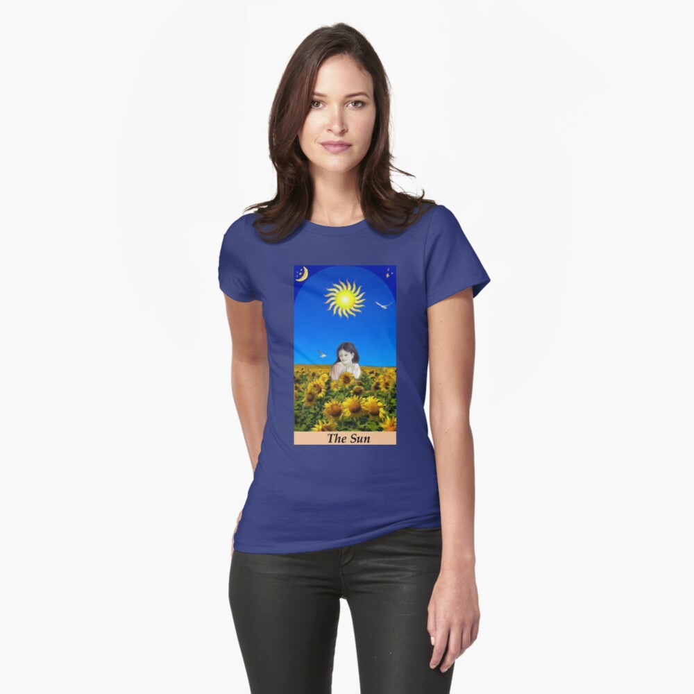 THE SUN Fitted T-Shirt