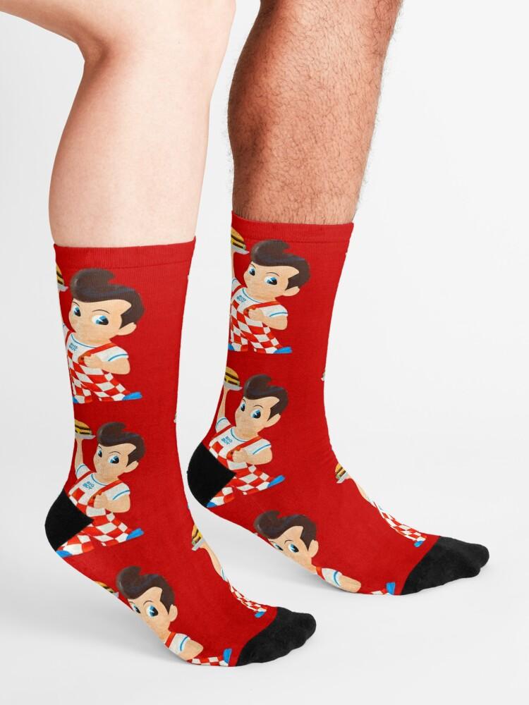 Alternate view of Bob's Big boy burger  Socks