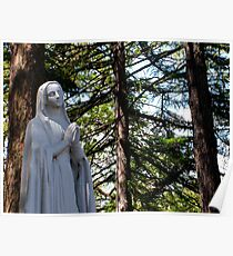 Mary In Prayer Poster