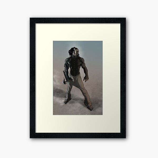 Val-Mar, Prince of the Damned by Grey Williamson Framed Art Print