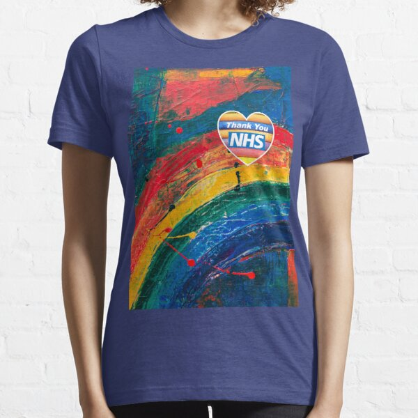 Donation to NHS NHS Angel Wings Memory Thank You T-shirt Mens Ladies Kids