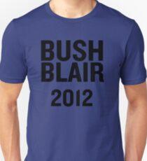 PHONY 2012 - BUSH, BLAIR 2012. Unisex T-Shirt
