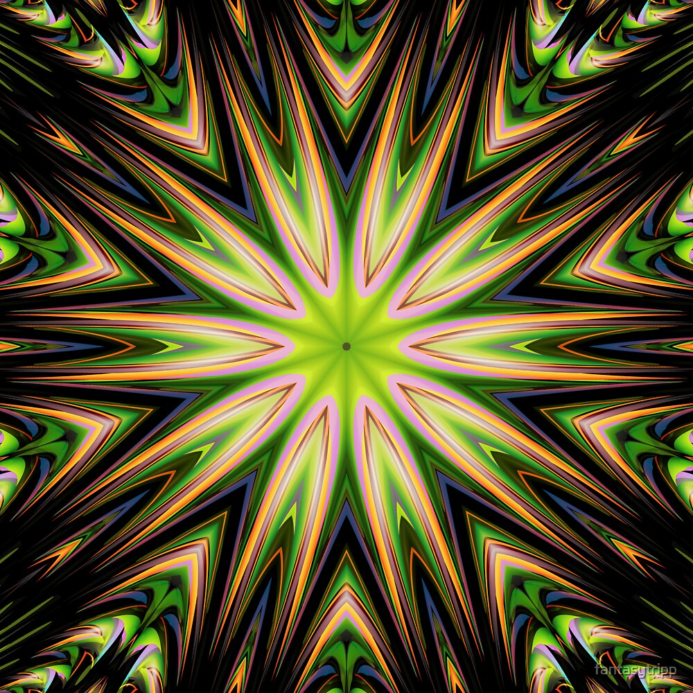 Color 11 Kaleidoscope by fantasytripp