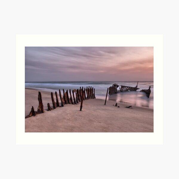 Dicky Beach • Caloundra • Queensland Art Print