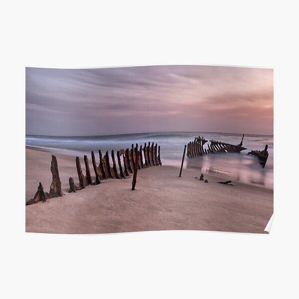 Dicky Beach • Caloundra • Queensland Poster