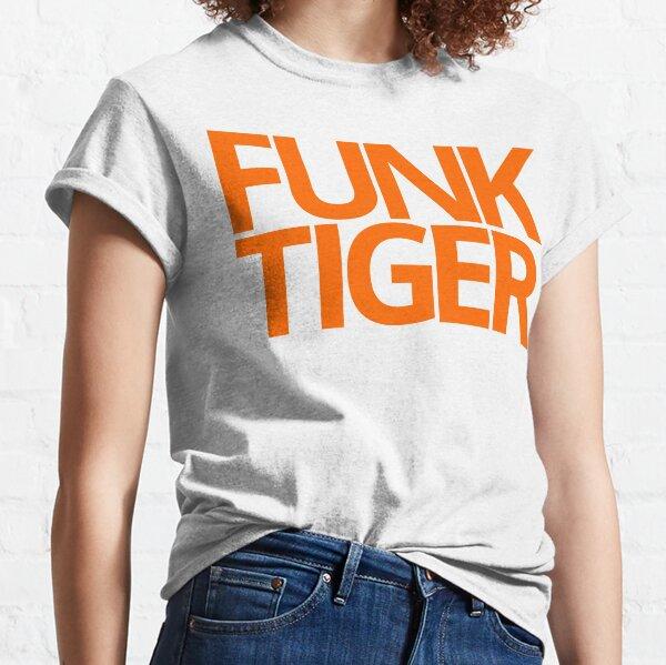 Big Orange Funk Tiger Graphic Logo Classic T-Shirt