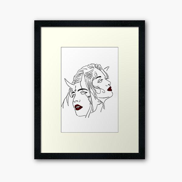 Diabolik lovers  Framed Art Print