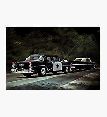 Highway Patrol Photographic Print