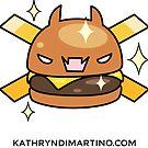 Kawaii - Cheeseburger French Cries Jolly Roger by Kathryn DiMartino