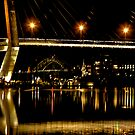 TWO BRIDGES & REFLECTIONS by normanorly