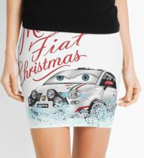 Merry Fiat Christmas! Mini Skirt