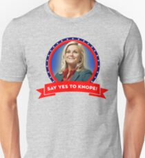 'Say Yes To Knope!', Leslie Knope - Parks & Recreation T-Shirt