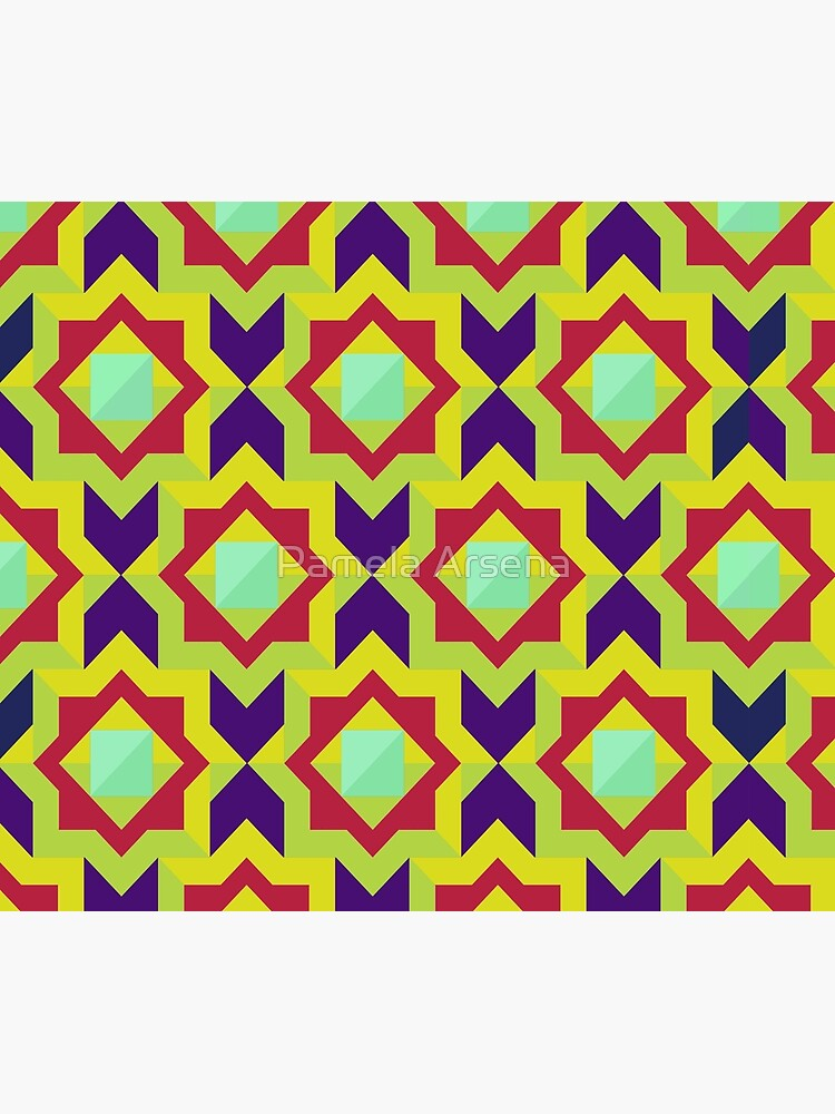Geometric Intricate Trendy and Colorful  Pattern by xpressio