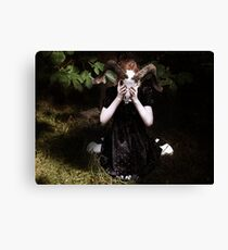 Prayers to a God I don't believe in Canvas Print