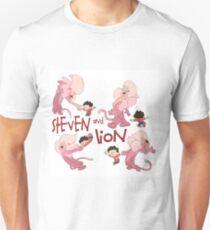 Steven and Lion. Unisex T-Shirt