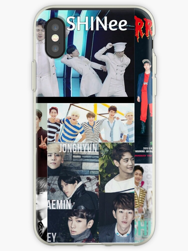 'SHINee Collage' iPhone Case by BubbaBunny