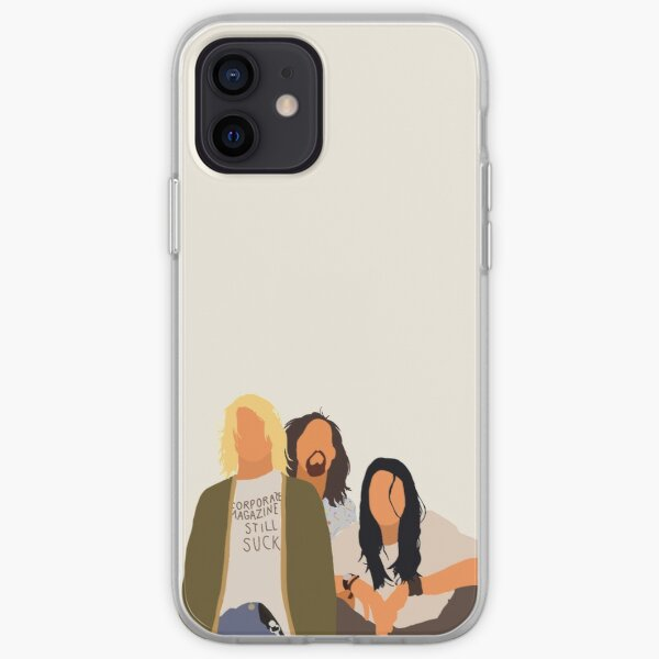 nirvana iPhone Soft Case
