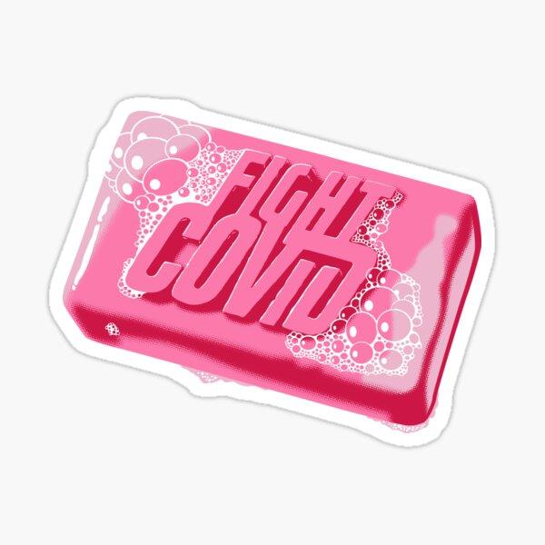 Fight Covid Sticker
