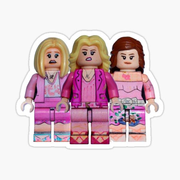 The Plastics - Mean Girls - Broadway Bricks Sticker
