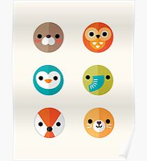 Smiley Faces - Set 2 Poster