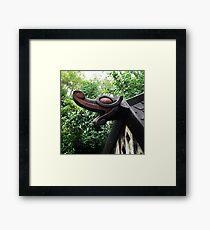 Dragons Head Framed Print