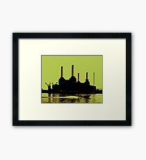 Battersea Power Station, London Framed Print