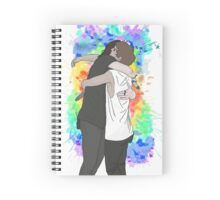 The Hug Spiral Notebook