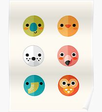 Smiley Faces - Set 3 Poster