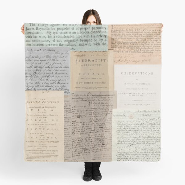 Alexander Hamilton Papers Collection Scarf