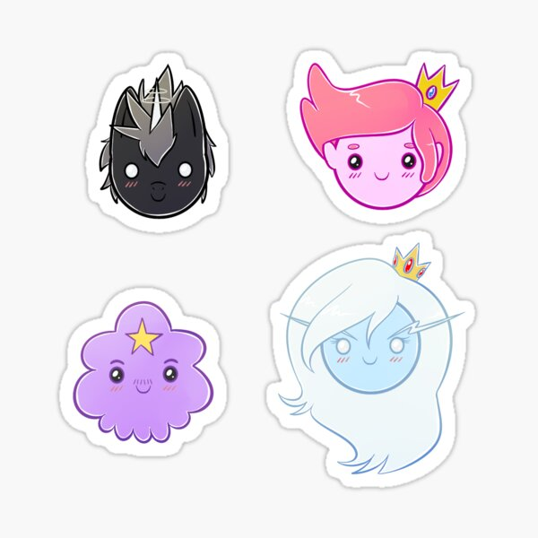 AT - Chibi Characters - Set 5 Sticker