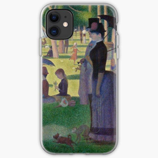 A Sunday Afternoon on the Island of La Grande Jatte Modernized iPhone Soft Case
