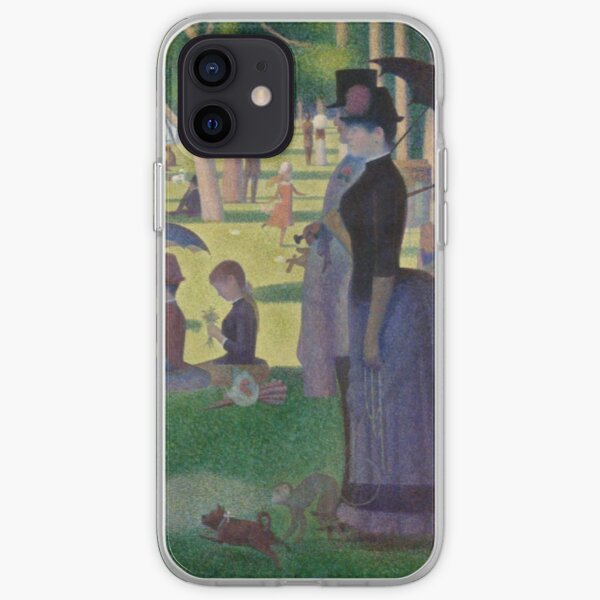 A Sunday Afternoon on the Island of La Grande Jatte Modernized iPhone Soft Case