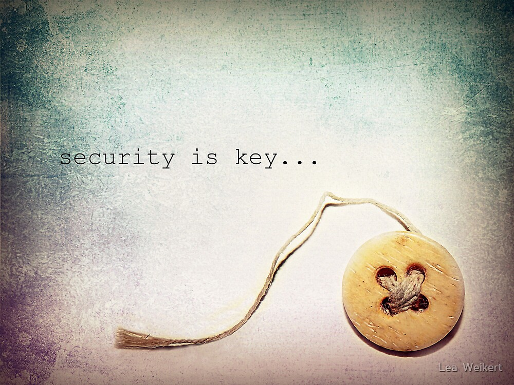 Security is Key by Lea  Weikert