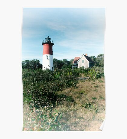 Nauset Light, Cape Cod National Seashore Poster