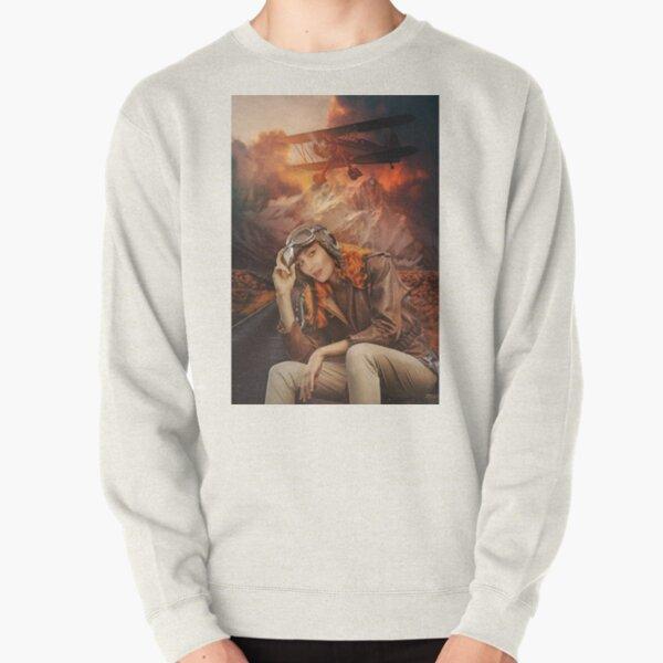 Amelia EarHaught - Wynonna Earp Nicole Haught Fan Art Aviator Pullover Sweatshirt