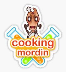 Cooking Mordin Sticker